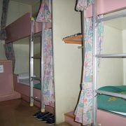 オレンジフェリーの二等寝台、寝床はまずまずだが風呂が・・・