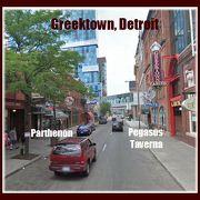 OPA! グリークタウンで ランチ/スイーツ を! Greektown, Detroit