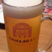 道頓堀松竹座の地下2階に地ビール工場があります