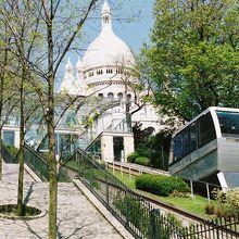 登山ケーブルカー「フニクラーレ」は共通一日券で乗れます。