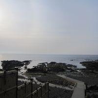 日本海を眺められる露天風呂
