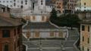 At The Spanish Steps View
