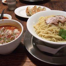 夏季限定 冷製トマトつけ麺