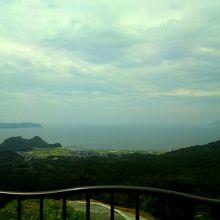 少し雲がありましたが、駿河湾一望です(*^^)v