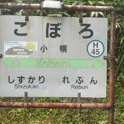 日本一の秘境駅かな?