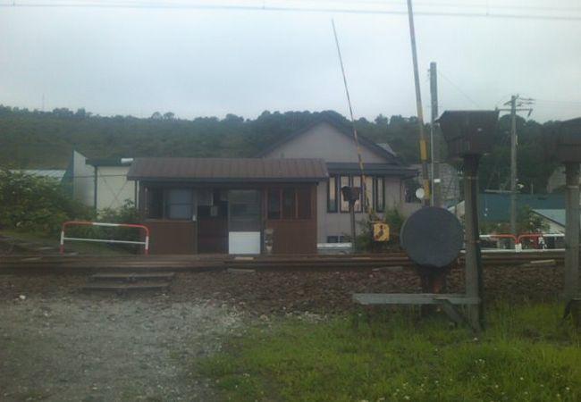 漁村の風情が満載の駅です