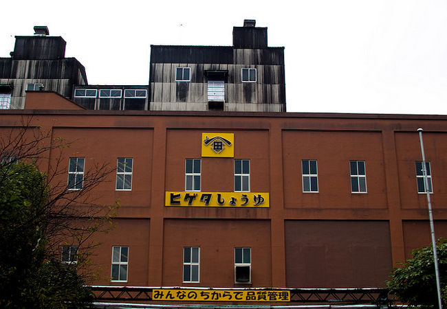 ヒゲタ醤油工場