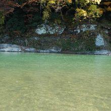 荒川」の川底です
