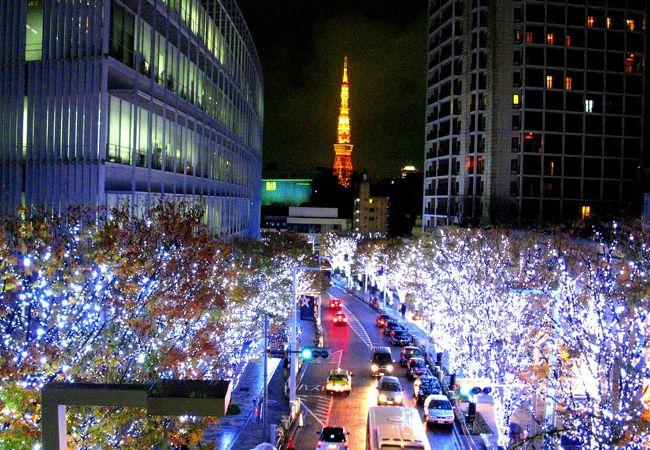 六本木ヒルズ Artelligent Christmas