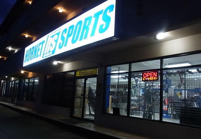 グアムで専門的なスポーツ用品を探すなら