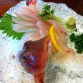 鮮度の高い地魚を楽しむなら