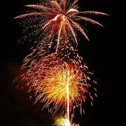 伊豆地方の花火大会で最も見やすいのは、伊東温泉の按針祭りの花火大会です。