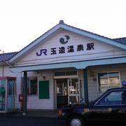 昔懐かしい駅