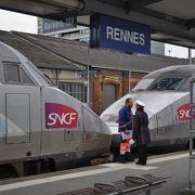 レンヌ駅 ~TGV&バスで パリ(モンパルナス)からモンサンミシェルへ