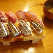 きびなご寿司