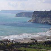 cliffを望む雄大な景色。