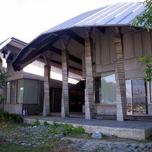 竜宮城から帰った浦島太郎のお墓がある詫間町箱の公民館