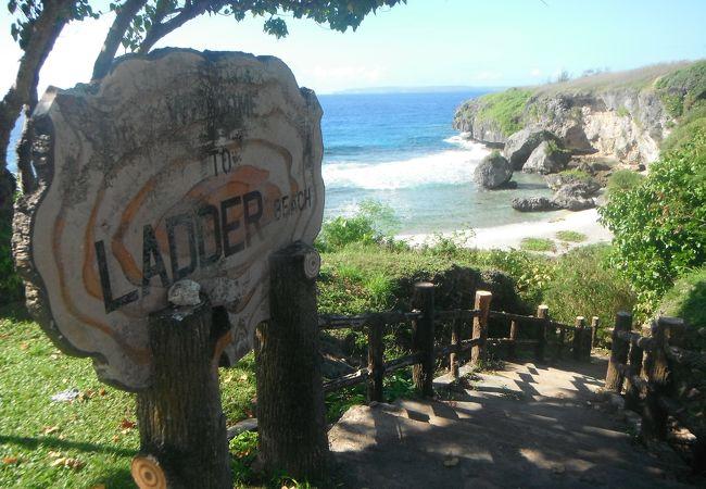 穴場のビーチですが、雰囲気は最高ですよ!!