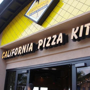 ピザが美味しい