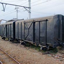 瓦輸送用貨車 使用中止になり30年以上が経過