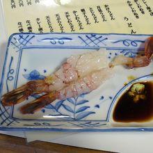 美味しい蕎麦と新鮮な魚介類