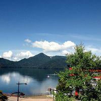 お部屋から見た中禅寺湖の景色です