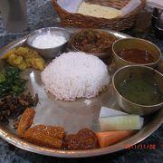 格安料金で美味しいネパール料理ダルバート