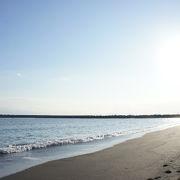 なぜかホッとする海岸です