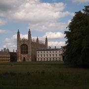 チャペルで有名なケンブリッジ大学のカレッジ