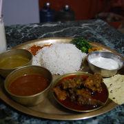 手頃なお値段でネパール料理