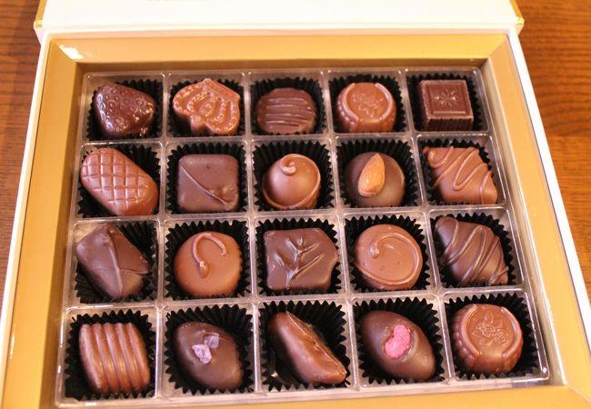 いろいろなフレーバーが楽しめる王道のチョコレート