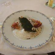 本場のフランス料理を初体験