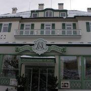 ノイシュヴァンシュタイン城の麓にあるレストラン