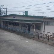 池田町内に現存する貴重な駅です
