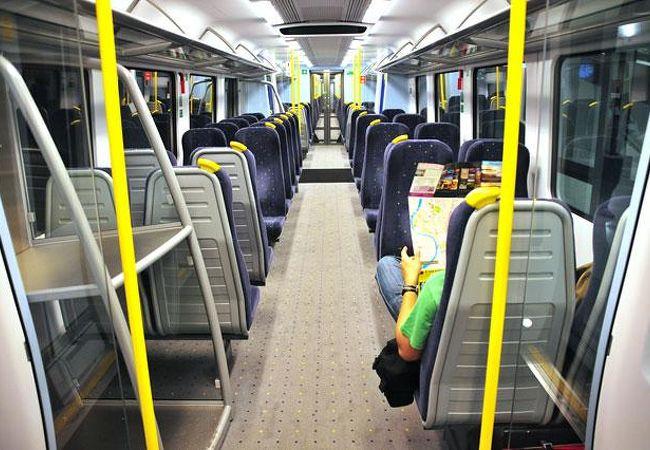 普通列車はコストパフォーマンス「大」です。^^