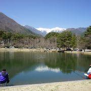 早太郎温泉から駒ヶ池経由で光前寺まで歩いていく途中