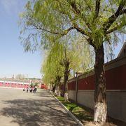 偽満皇宮博物院は、いま春蘭満、いろんな花や木々が咲き誇っています。