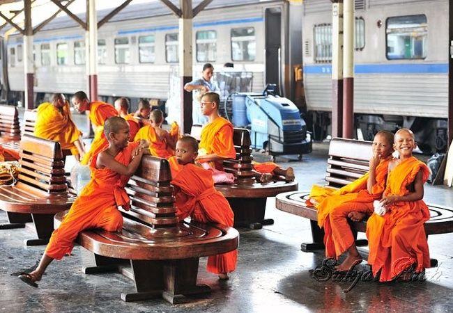 バンコク中央駅です