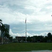 世界一高い国旗掲揚台