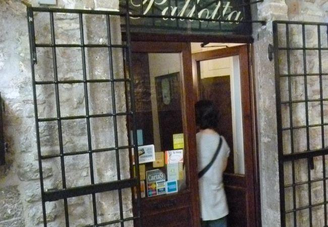 Trattoria Pallotta(トラットリア・パロッタ)   美人オーナーのアットホームなお店です