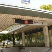 大阪市長居陸上競技場の最寄り駅 地下鉄の長居駅