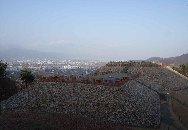 森将軍塚古墳 平野を見下ろす王の墓
