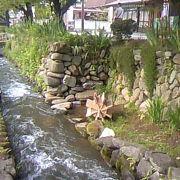 水のおきれいな趣ある町