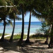 【オブジャンビーチ】シュノーケリングでも十分楽しい!一番お気に入りのビーチ