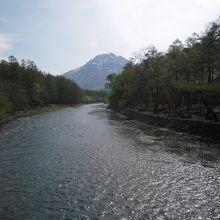 河童橋からの焼岳