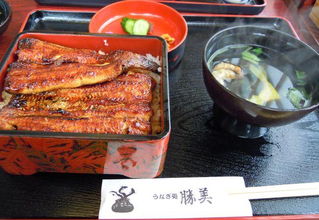 おいしい鰻。