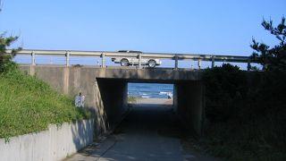 景色が良い快適な海辺の道路