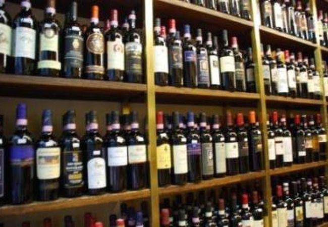 フィレンツェの有名なワインショップ