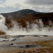 日本一の泥火山