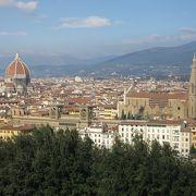フィレンツェの街並みが一望